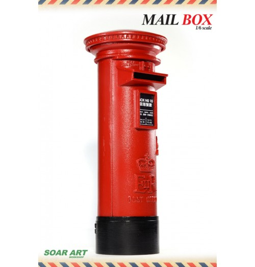 Soar Art Workshop 1/6 Mailbox (England Style)